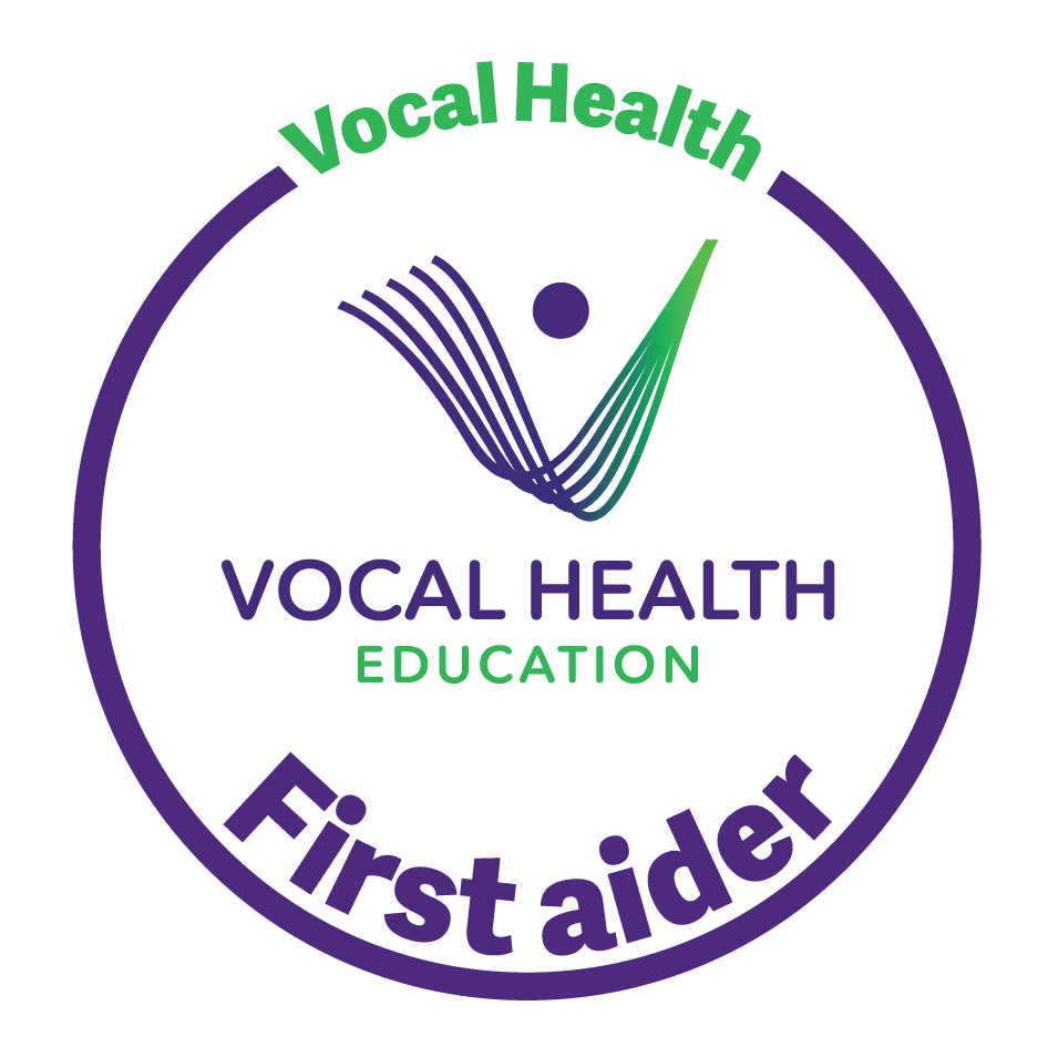 Vocal Health Education First Aider